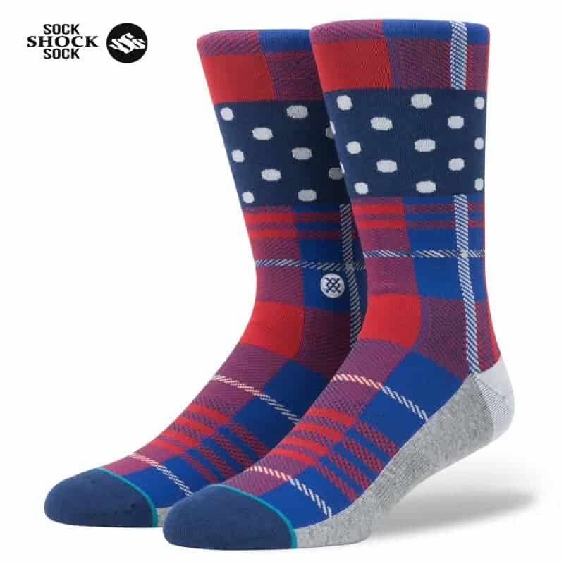 Tất Stance Wade Polka Plaid SP000357