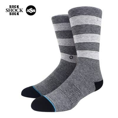 Tat-Stance-Striped Grey-xam-SP000415