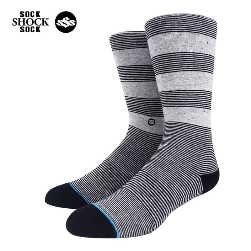 Tat-Stance-Striped Grey-xam-SP000415