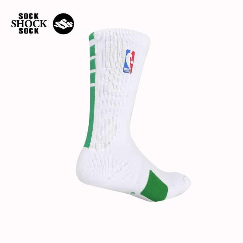 Tất Bóng Rổ Nike NBA Elite Performance 2019 Trắng - Xanh_SP000406