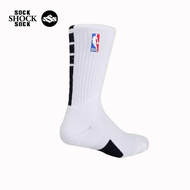 Tất Bóng Rổ Nike NBA Elite Performance 2019 Trắng_1 SP000404