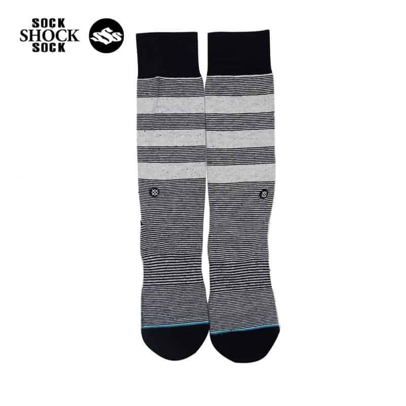 Tat-Stance-Striped Grey-xam-SP000415 1