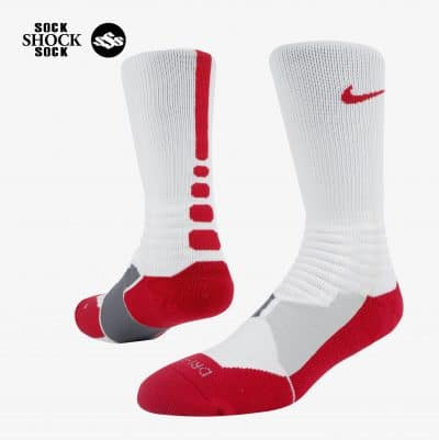 pvn89 Tất Nike Hyper Elite Trắng -Kẻ Đỏ 02-logo